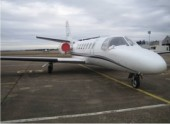 Citation Cessna 3/4 avant